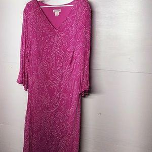 Jessica London plus size ankle length dress